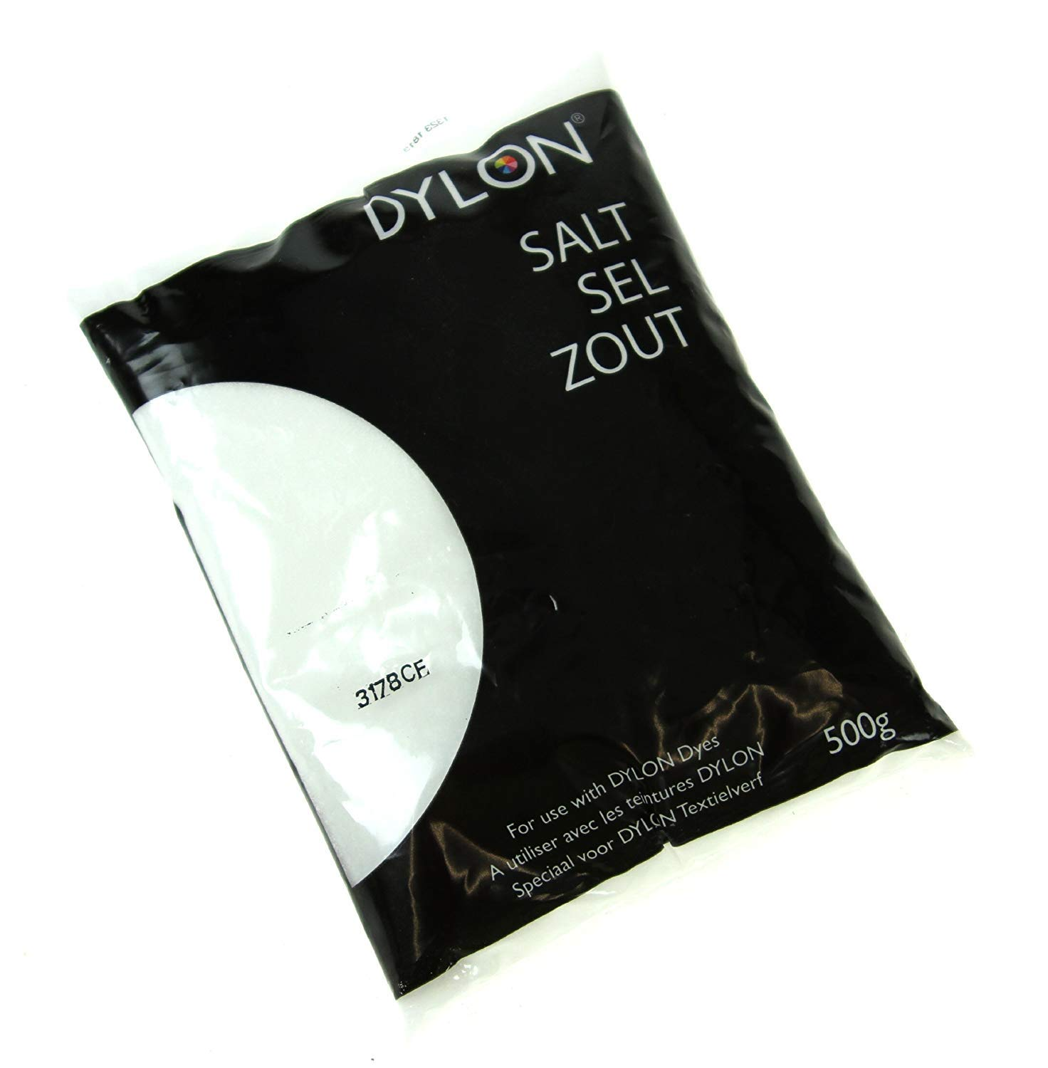 Dylon DYE Salt 500g for use with Dylon Dyes 6002414800