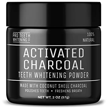 Amazon Com Activated Charcoal Teeth Whitening Powder Pure