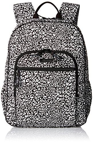 Women's Campus Tech Backpack, Signature Cotton, Camocat by Vera Bradley