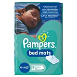 Pampers Bed Mats, 21 Mats