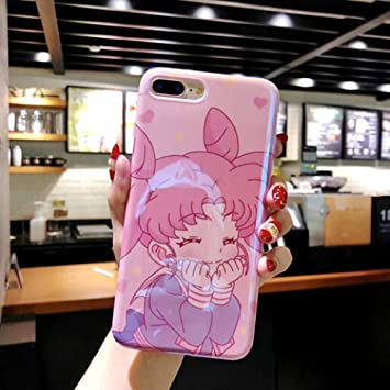 NHSCDZ Película templada 360 Full Cover Cute Sailor Moon Soft ...