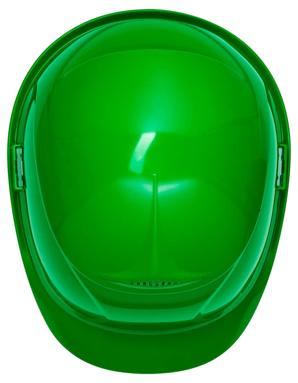 Elmetto protettivo uvex airwing B Casco da Lavoro con Regolazione Individuale Casco Antinfortunistica con Euroslot Laterali per Dispositivi di Protezione dell/´udito a Cuffia