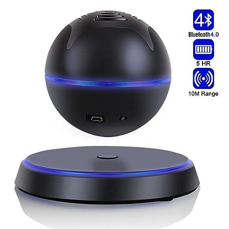 Altavoz Inalámbrico Bluetooth 4.0 Bocina Portátil Flotante Levitante para Smartphone Tabletas Ordenadores Portátiles PC y Dispositivos