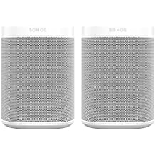 All-new Sonos One – 2-Room Voice Controlled Smart Speaker with Amazon Alexa Built In (White)