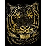 Arts & Crafts : Royal and Langnickel Gold Engraving Art, Bengal Tiger