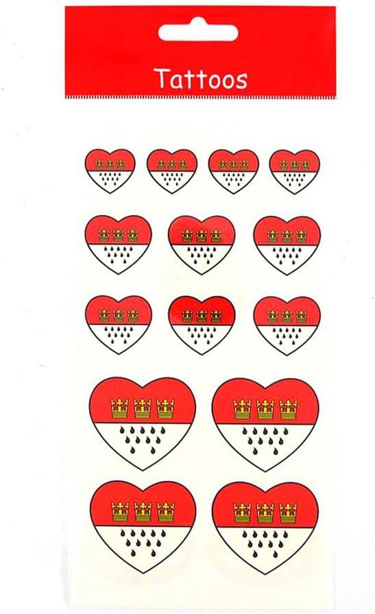 Deiters Tattoos K/öln Wappen Herzform