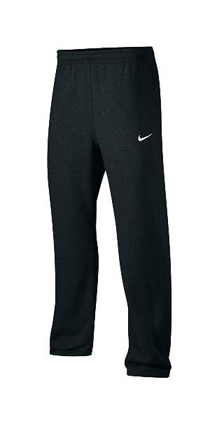 Nike Club Swoosh Men's Fleece Sweatpants Pants Classic Fit, Small - Black
