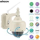 KKmoon Wireless WiFi HD 720P Pan Tilt IP Camera Auto-focus PTZ Outdoor & Indoor Security IP CCTV Camera