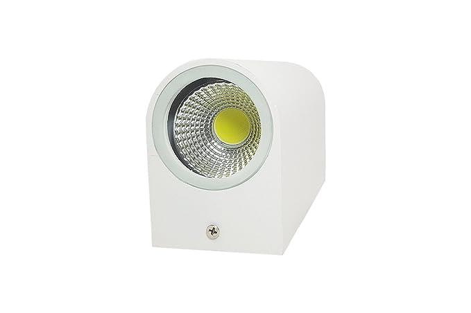 Plafoniere Esterno Led : Applique led w bianco lampada luce fredda parete plafoniera