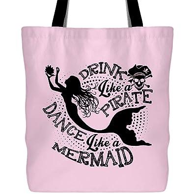 Amazon.com: Bolsas de danza como una sirena con asas largas ...