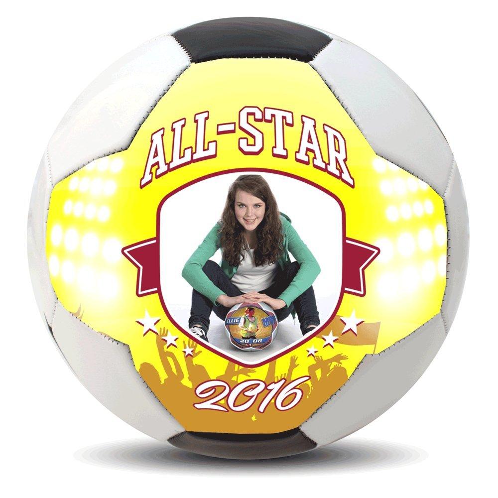 Diseño personalizado Reglamento tamaño 5 balón de fútbol ...