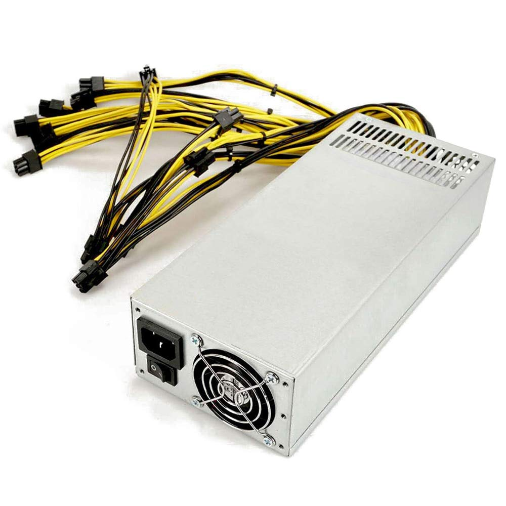 Utini Dual Ball Bearing Fan Dedicated Power Supply for S9 S11 E11 Z11 R-4 A7 E9I Miner Mining Machines with 94/% Platinum Efficiency