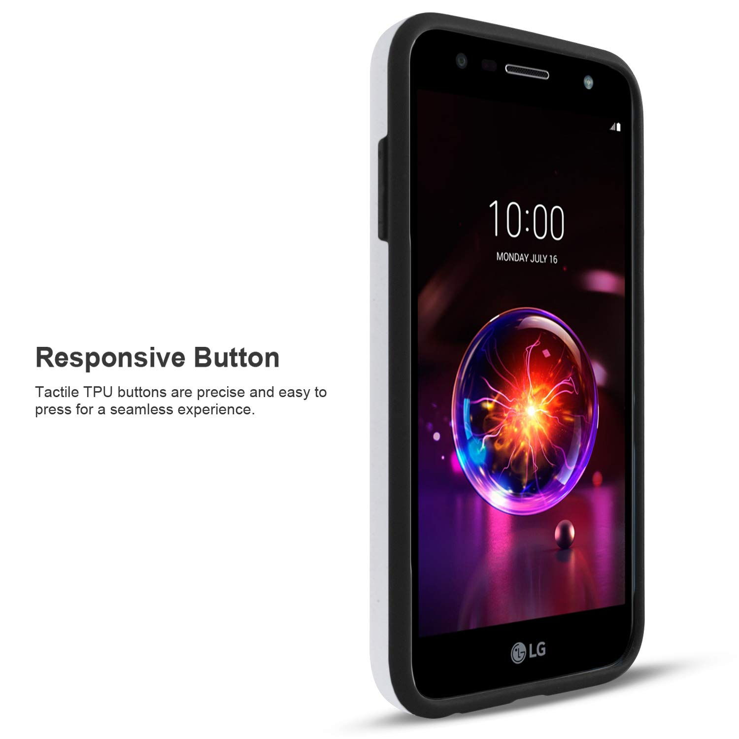 LG X Charge Case, LG Fiesta 2 Phone Case, LG Fiesta LTE Case, LG X Power 2 Case, with [Premium Screen Protector Included] Circlemalls Hybrid ...