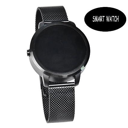 Black Reloj Inteligente De Seguimiento De Fitness For Men , Shengyaohul Smart Health Watch Bluetooth /