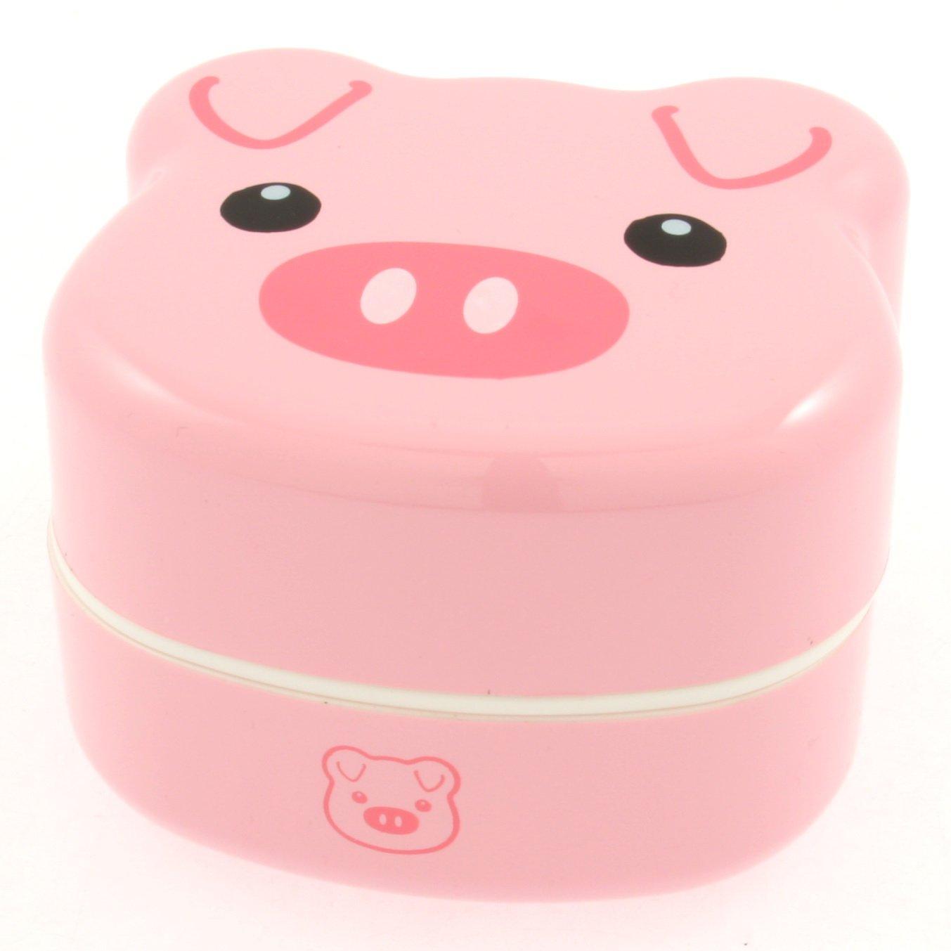 Kotobuki 2-Tiered Bento Box, Piggy by Kotobuki