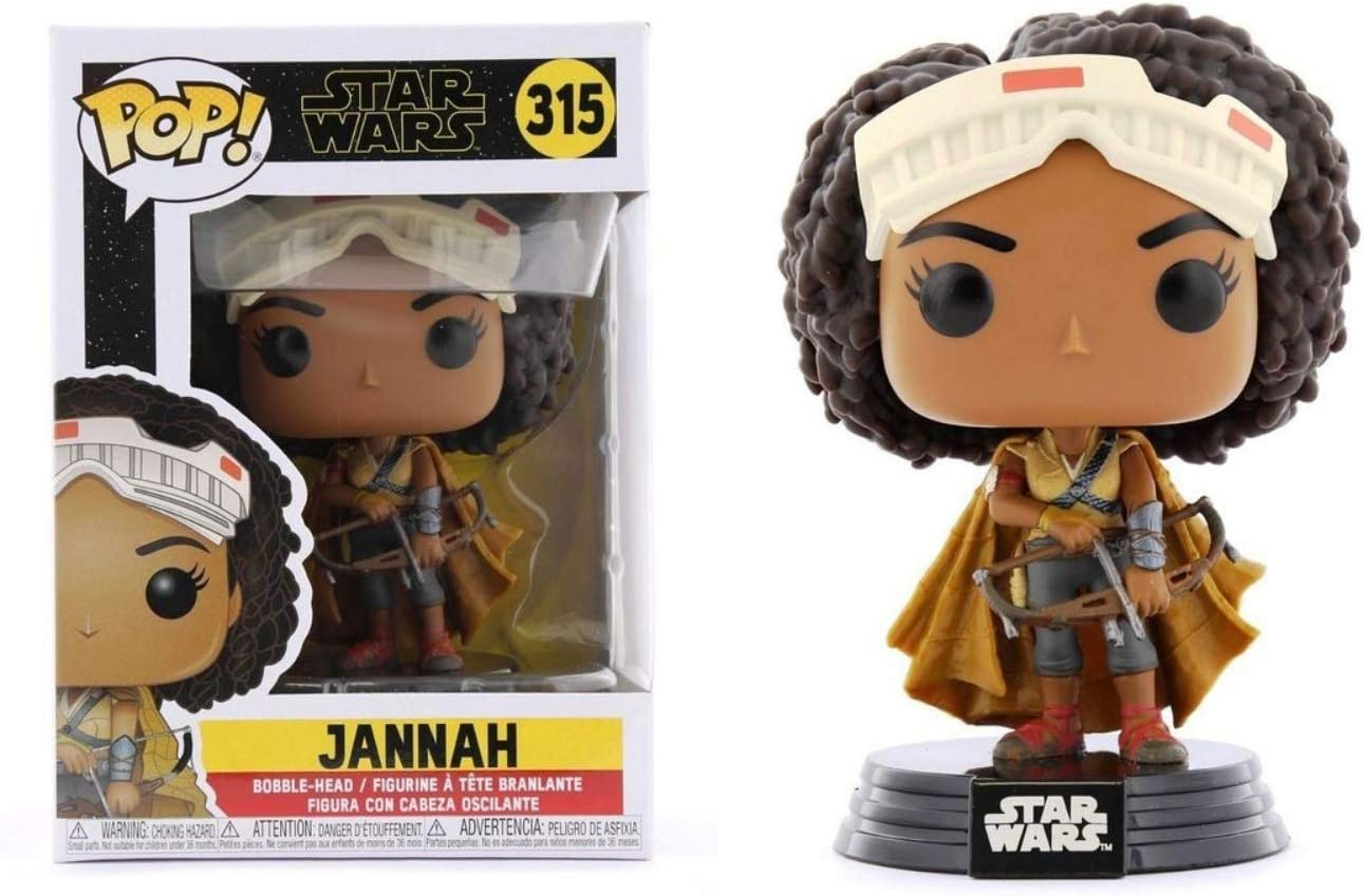 Star Wars Rise of Skywalker POP Jannah