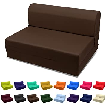 Marvelous Magshionsleeper Chair Folding Foam Bed Sized Single Size Twin Size Or Full Size Full 5X46X74 Coffee Creativecarmelina Interior Chair Design Creativecarmelinacom