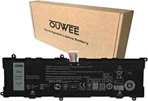 OUWEE 2H2G4 Laptop Battery Compatible with Dell Venue 11 Pro 7140 Tablet Series Notebook HFRC3 TXJ69 21CP5/63/105 2217-2548 7.4V 38Wh 4980mAh