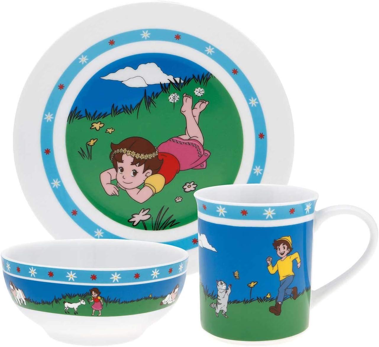 Puresigns 2030300 Kindergeschirr Set 3-teilig Heidi