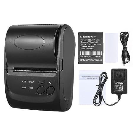 KKmoon POS-5802LN Portale Mini 58mm 1 To 8 Wireless Thermal Printer Receipt Bill Ticket POS Printing