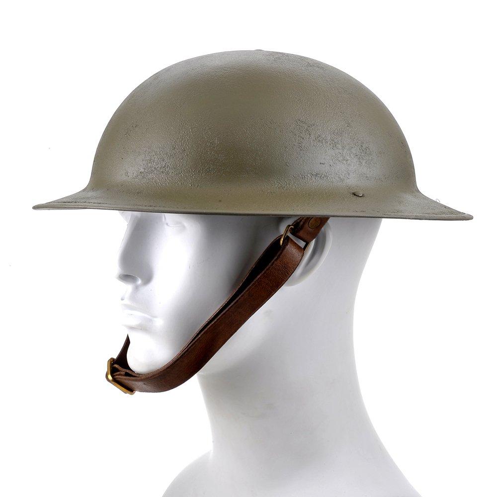 World War Supply US WW1 M1917 Brodie Helmet Doughboy Helmet by World War Supply