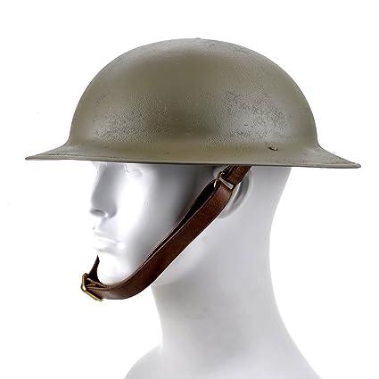 Amazon com : US WW1 M1917 Brodie Helmet Doughboy Helmet : Sports