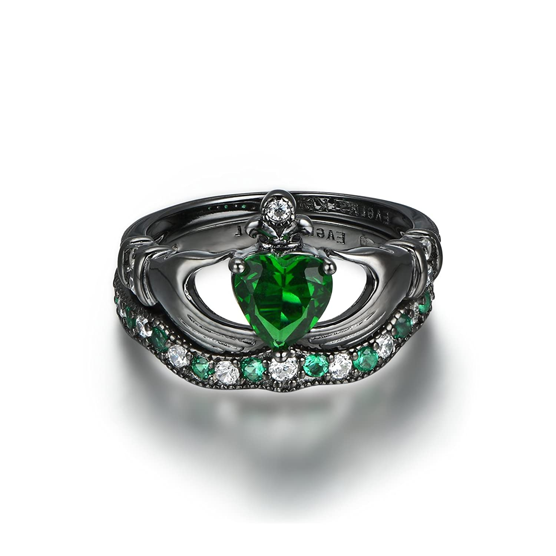 Amazon Claddagh Ring Irish Claddagh Friendship Heart Created