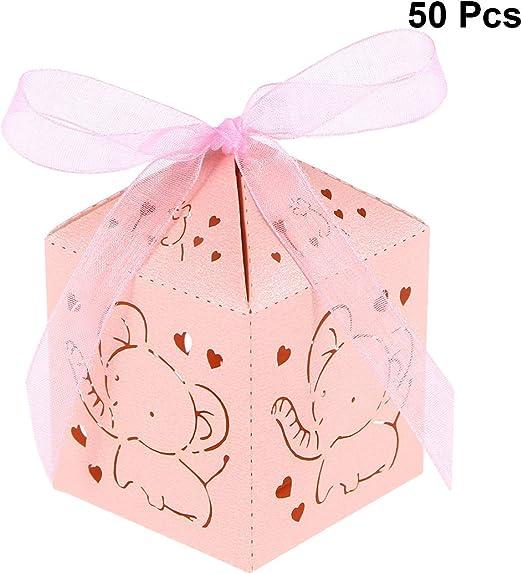 STOBOK Cajas de Caramelos de Papel Hueca para Bombones Dulce ...
