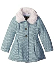 "Jessica Simpson Little Girls' ""Bowed Pleats"" Peacoat"