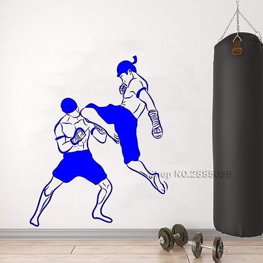 zhuziji Artes Marciales Kickboxing Tatuajes de Pared Pegatinas de ...
