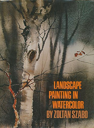 Landscape Painting in Watercolor (Landscape Painting In Watercolor By Zoltan Szabo)