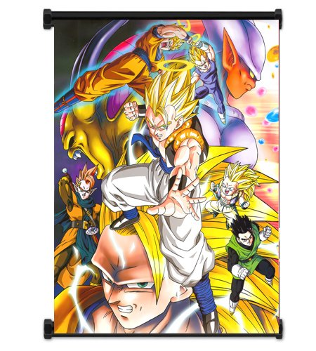 Dragon Ball Z Anime Fabric Wall Scroll Poster  Inches. Drago