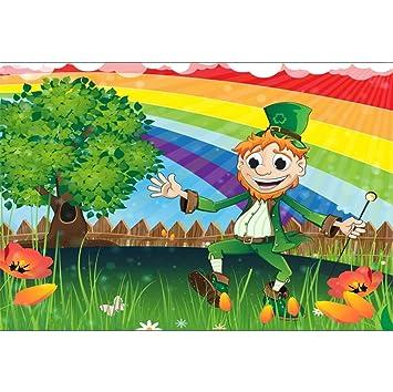 Amazon.com : 10x6.5ft Vinyl Cartoon St.Patrick's Day ...