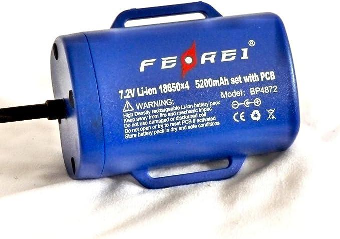 Ferei-Blue BL200L Super-Bright Bicycle Biking Flashlight /& Torch Two Cree XM-L