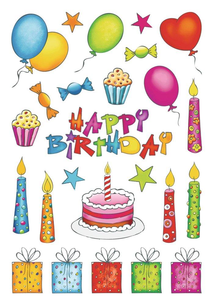 anniversaire Sticker Herma Decor paillettes PG//2BL