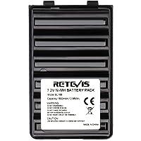 Retevis BL168 Ni-MH Batería 7.2V 1800mAh Compatible con Walkie Talkie Vertex VX-168 VX-160 VX-418 VX-428 VX-210A VX-218…