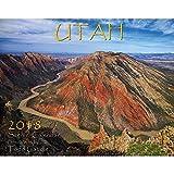 Utah 2018 Deluxe Wall Calendar