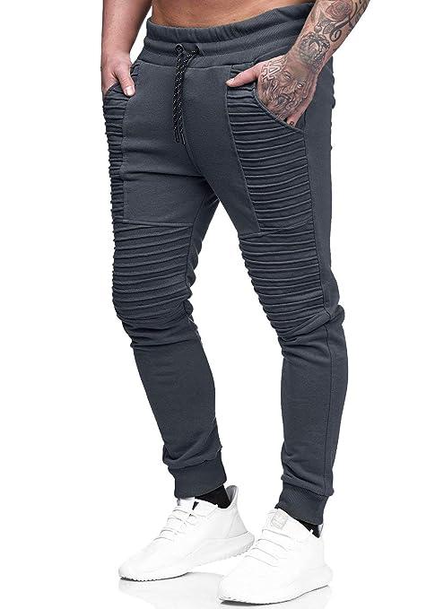 41998bbe3771f Yidarton Hommes Jogging Pantalon Casual Slim Fit Pantalon de Sport Jogger  Survêtement Sweat Pants: Amazon.fr: Vêtements et accessoires