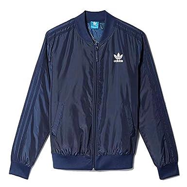 Blue Bleu Sport Adidas Geology De Amazon Superstar Femme 36 Veste Uww06n5q