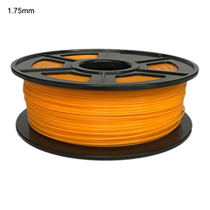 Friendly Pla 3d Printer Filament Orange 1.75mm Or 3.0mm 3d Printers & Supplies