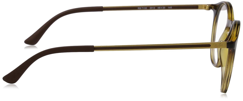 d4a7fbbcbf0b7 Amazon.com  Ray-Ban Men s RX7132 Eyeglasses Havana 48mm  Clothing