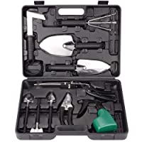 12-Pc Xinhai Gardening Tools Set Stainless Steel w/Storage Box