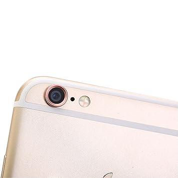cfd8771cc UHIPPO® iPhone 6 iPhone 6s Cámara trasera del protector de la lente Cámara  de aluminio Anillo de protección cubierta ...