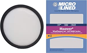 DVC Replacement Primary Washable Filter 303903001 Hoover WindTunnel Air Vacuum - 1 Filter