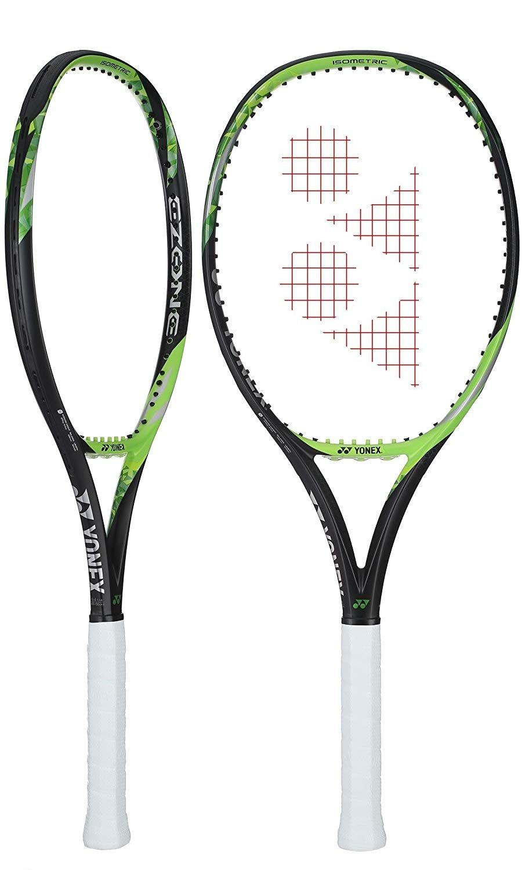Yonex EZONE Lite 286g – 10.1 oz Lime Green Tennis Racquet Strung with Custom String Colors Best Racket for Enhanced Sweetspot Vibration Reduction