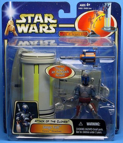 Star Wars Jango Fett Kamino Showdown From Attack of the Clones Collection ()