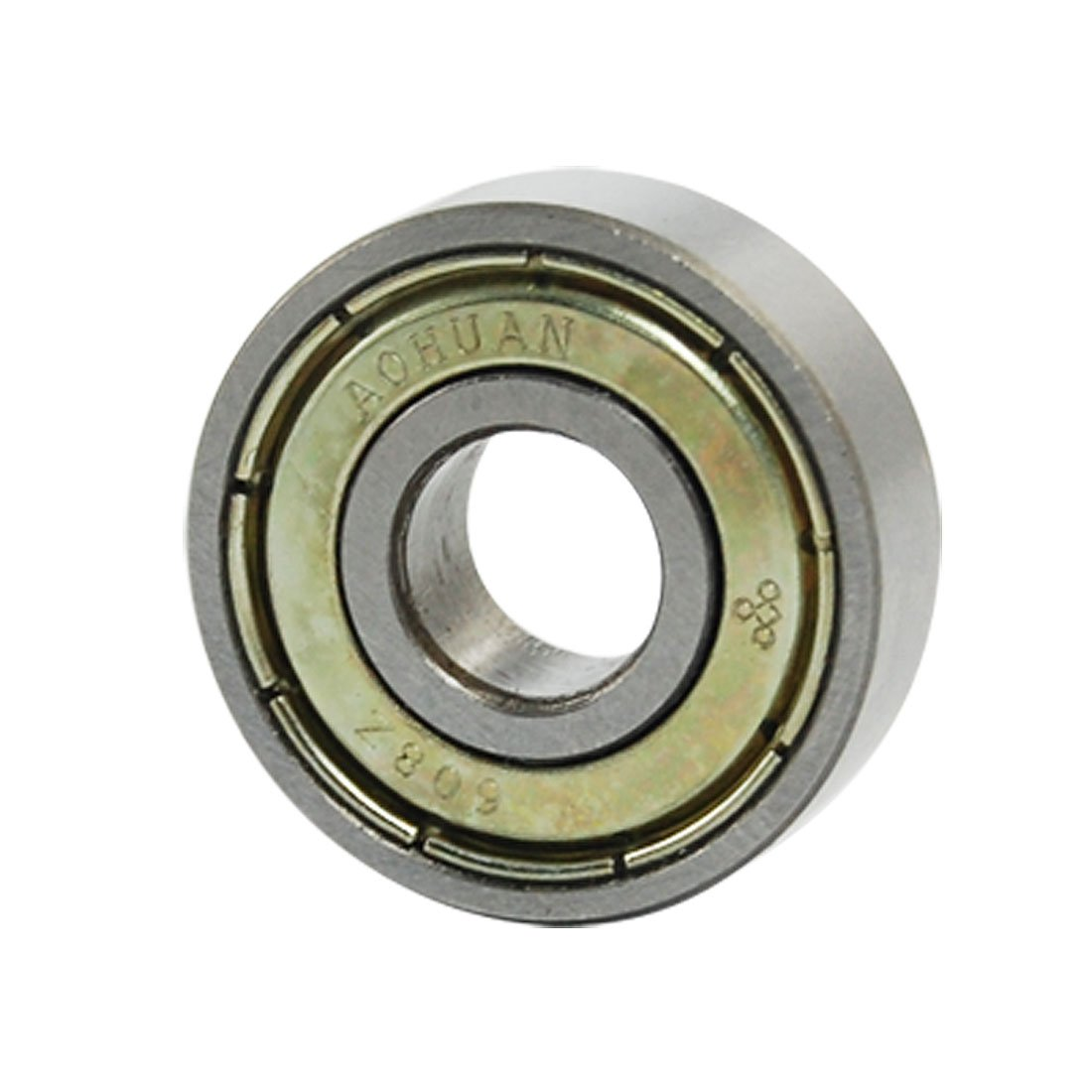 Uxcell a11093000ux0510 608Z 8mm x 22mm x 7mm Shielded Deep Groove Ball Bearing, 0.32 Stainless Steel
