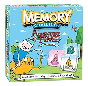 Amazon.com: Memory Challenge: Adventure Time Edition: Game: Toys ...