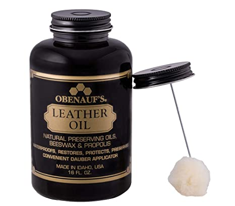 Admirable Obenaufs Leather Oil Conditions Restores Preserves Dry Leather 16Oz With Applicator Dailytribune Chair Design For Home Dailytribuneorg
