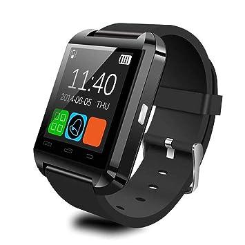 U8 Bluetooth Reloj Inteligente Pasómetro Altímetro Reproductor de Música Reloj de Control Remoto Fotografía Reloj Deportivo